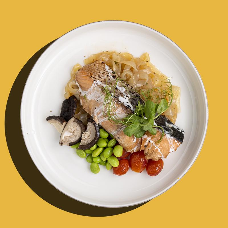 Baked Korean Gochujang Salmon (Keto-Friendly)