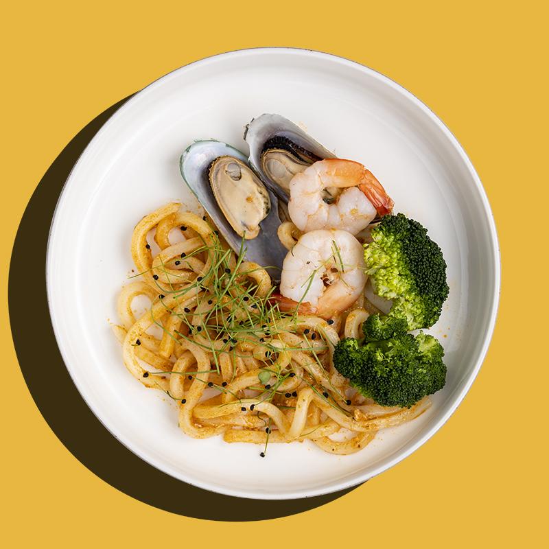 Chilli Crab Seafood Udon