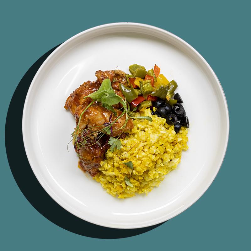 French Basque Chicken Stew (Keto-Friendly)