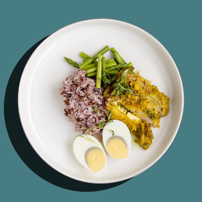 Grilled Thai Lemongrass Cumin Chicken Thigh (Low-Cal)