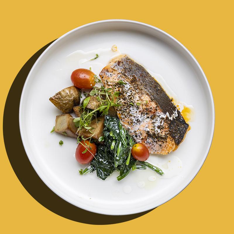 Herb Crusted Norwegian Salmon (Keto-Friendly)