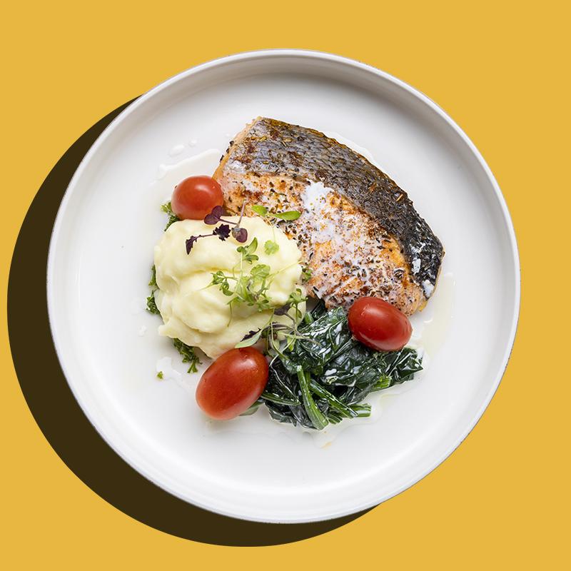 Herb Crusted Norwegian Salmon (Low-Cal)