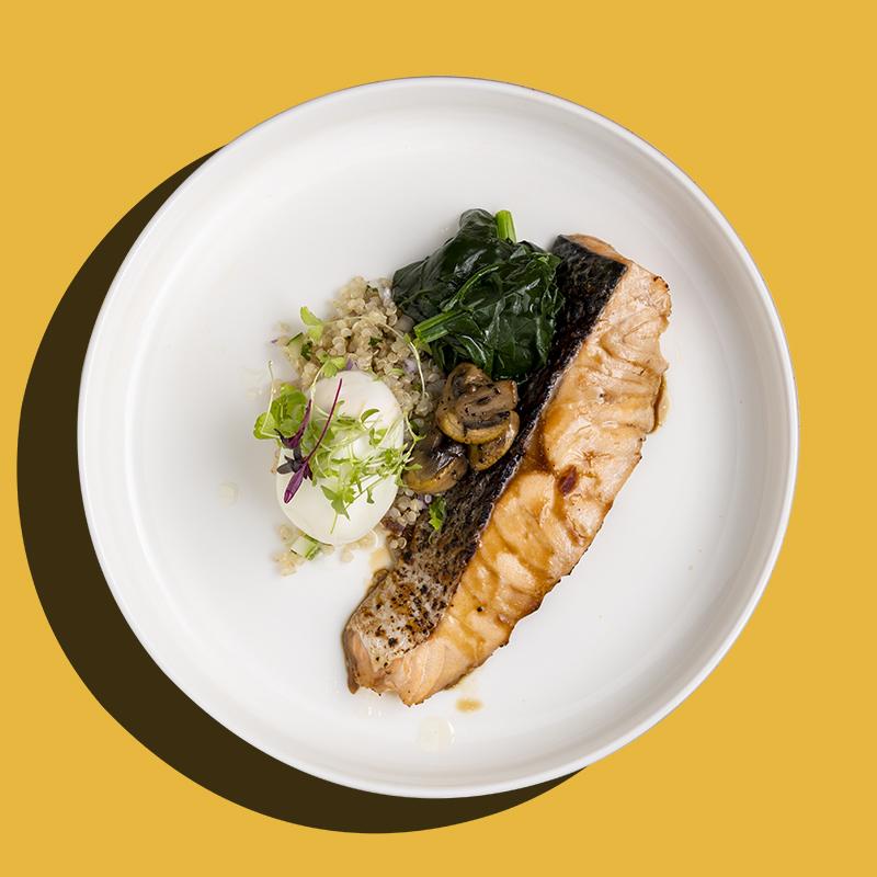 Kabayaki Norwegian Salmon (Keto-Friendly)