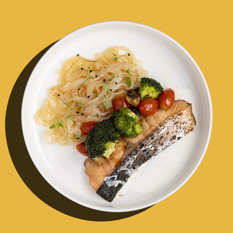 Miso Norwegian Salmon (Keto-Friendly)
