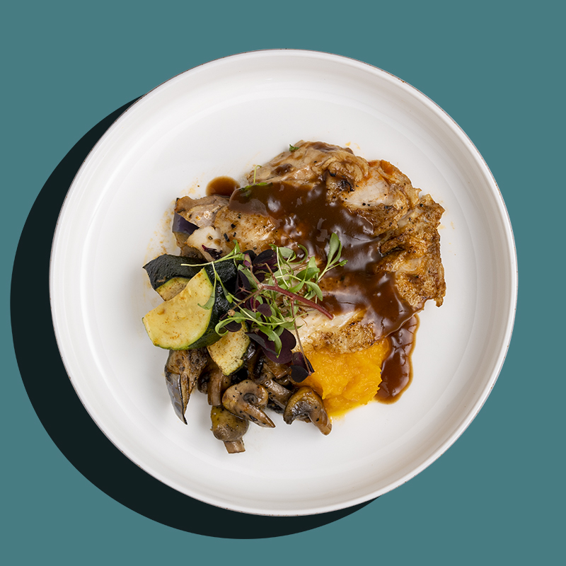 Roasted Lemon & Thyme Chicken (Low-Cal)
