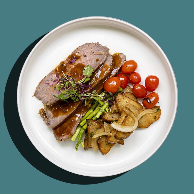 Slow-Roasted Beef Striploin
