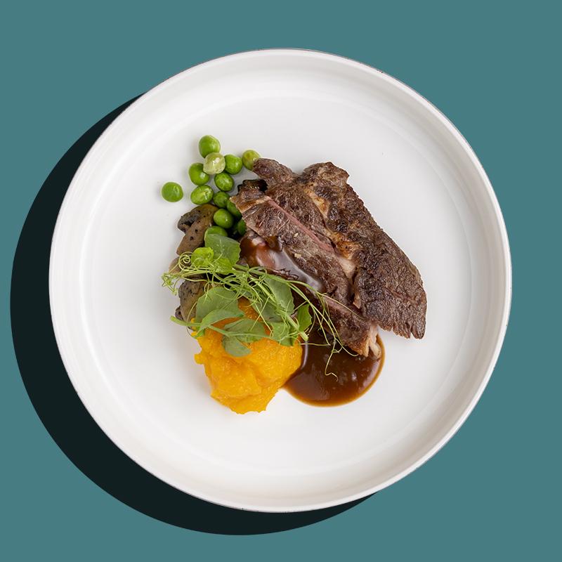 Sunday Roasted Beef with Italian Herb Mustard (Keto-Friendly)