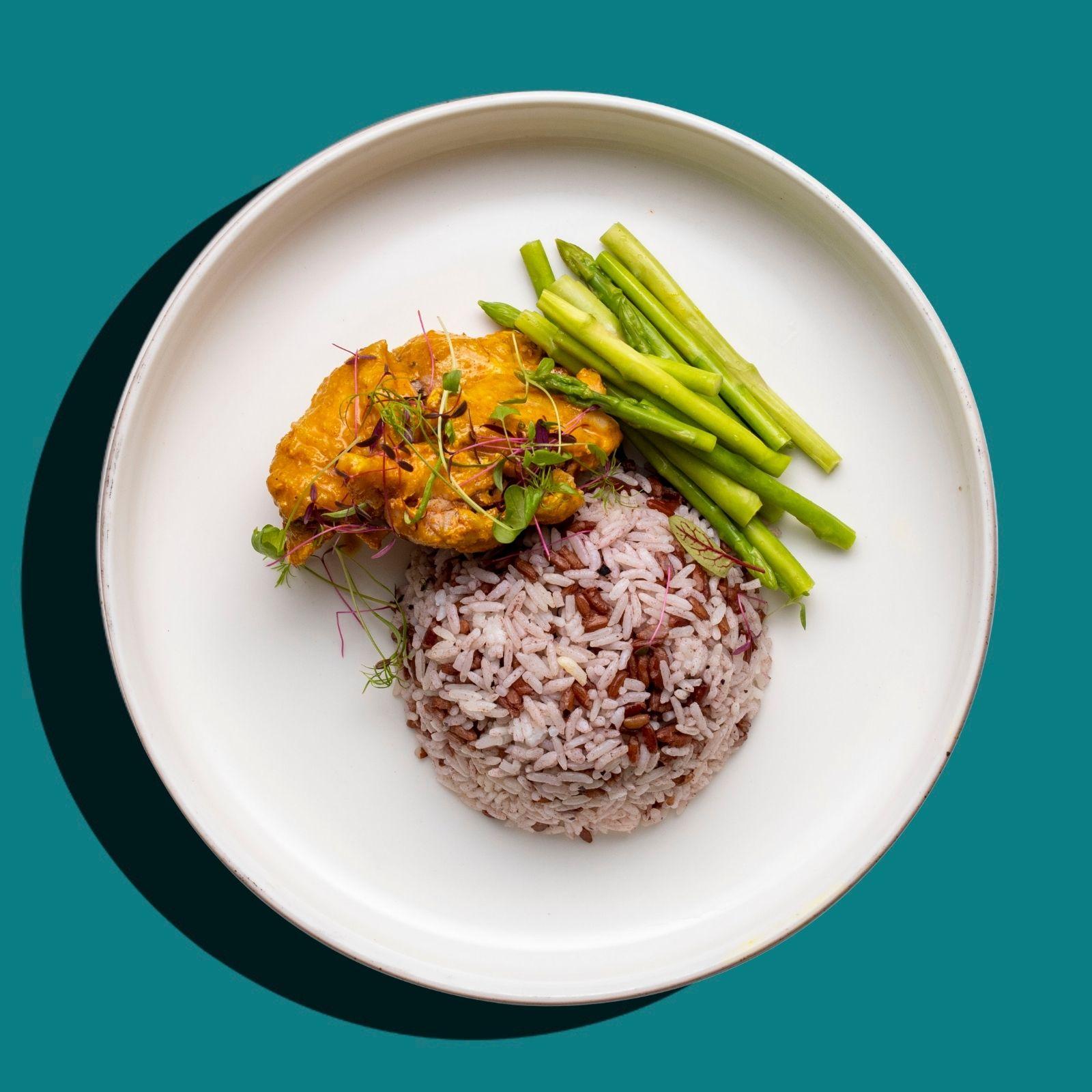 Thai Khao Soi Chicken Stew (Low-Cal)